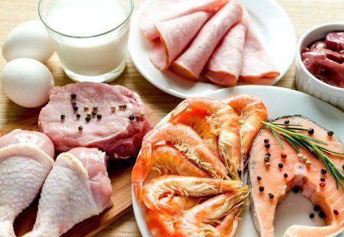 tăng cường thực phẩm giàu protein