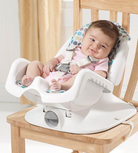 Tập cho bé ngồi ghế ăn từ đầu