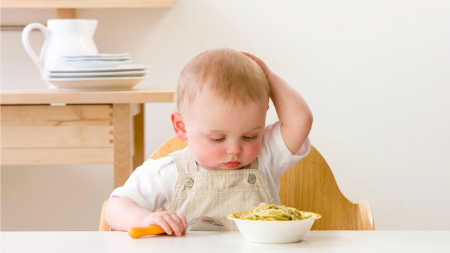 quá nhiều tinh bột trong thức ăn của trẻ