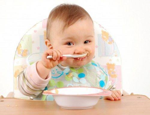 trẻ ăn dặm trên 6 tháng