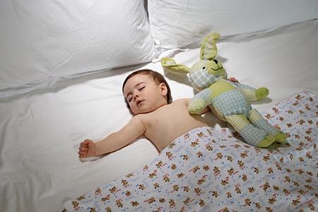 phần lớn trẻ em không ngủ đủ giấc