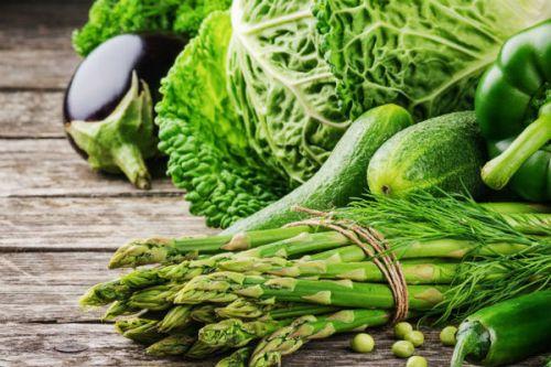 rau xanh trị biếng ăn