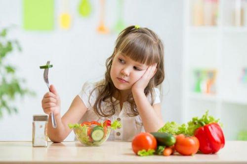 thực phẩm trị chứng biếng ăn ở trẻ