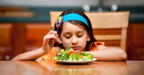 cải thiện chứng biếng ăn ở trẻ