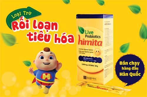 Himita Live Proboitics – dòng sản phẩm men vi sinh bán chạy số 1 tại Hàn Quốc
