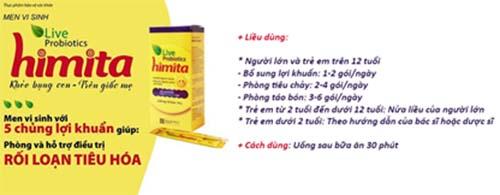 Himita là dòng sản phẩm men vi sinh nhập khẩu từ Hàn Quốc