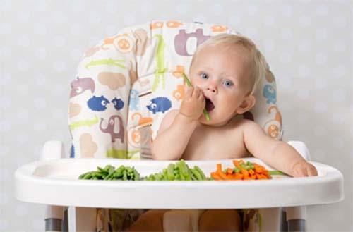 Các món ăn dễ cầm nắm luôn được chú trọng trong phương pháp ăn dặm BLW