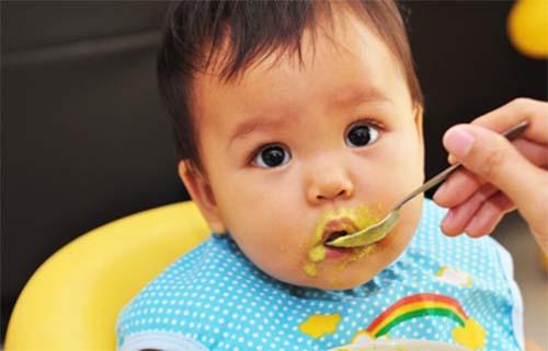 Thực đơn ăn dặm cho bé 7- 8 tháng tuổi