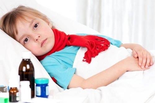 Trẻ bị rối loạn tiêu hóa ít có trường hợp bị sốt