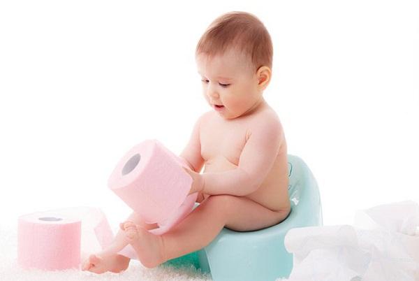 trẻ bị tiêu chảy thì phân sẽ không bình thường