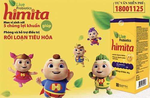 Men vi sinh Himita Live Probiotics