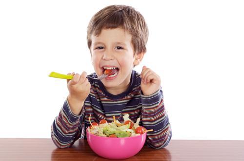 Trẻ có hệ tiêu hóa khỏe mạnh