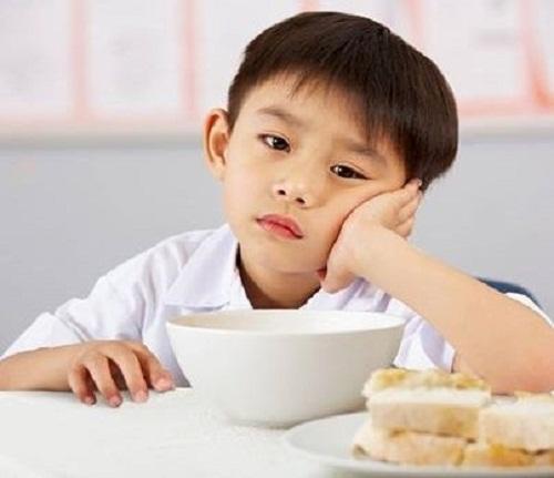 Trẻ biếng ăn do rối loạn tiêu hóa