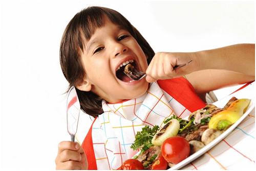 Kích thích trẻ ăn ngon
