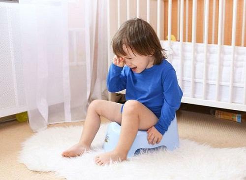Trẻ bị tiêu chảy nhiễm khuẩn