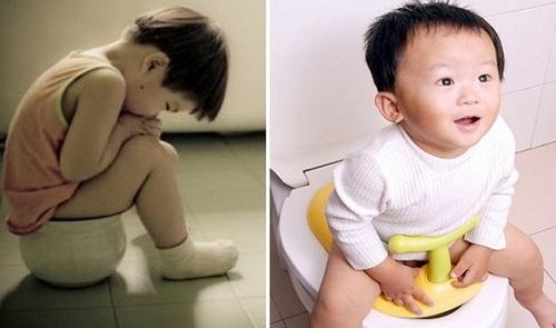 Trẻ bị táo bón, rối loạn tiêu hóa