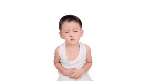 trẻ mắc bệnh tiêu hóa