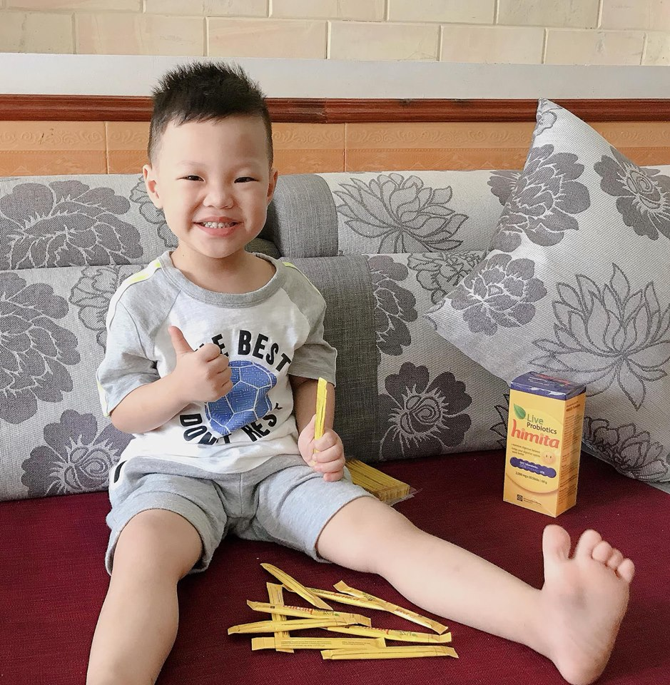 Himita dùng phòng và hỗ trợ điều trị rối loạn tiêu hóa cho bé