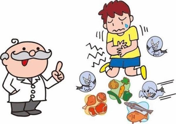 thức ăn không đảm bảo vệ sinh