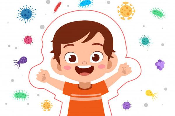 tăng cường miễn dịch ở trẻ