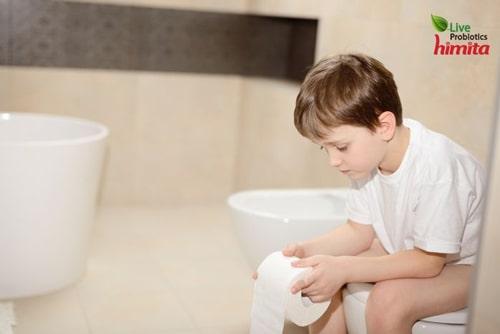 trẻ bị viêm ruột